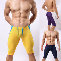 Gym Mens Compression Tights Fitness Cycling Shorts Running Sports  Shorts #CA