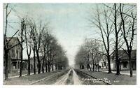 1909 East Vincennes Street, Linton, IN Postcard *5B