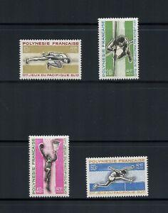 C195  French Polynesia 1966  sports games   4v.    MNH