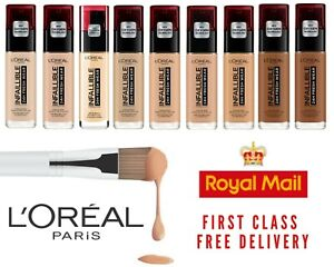 Loreal Paris Infallible 24HR Freshwear Foundation BRAND NEW Pick Your Shade