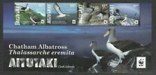 Aitutaki-Cook Islands Birds-2016 Chatham Albatross mnh set