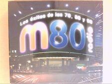 RARE COFFRET 3 CD / M80 RADIO / LOS EXCITOS DE LOS 70, 80 Y 90  / NEUF CELLO