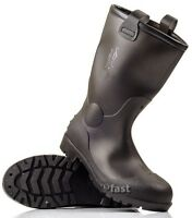 MENS UNISEX WINTER  WELLINGTONS  RAIN SNOW BOOTS WELLIES THERMAL  RUBBER