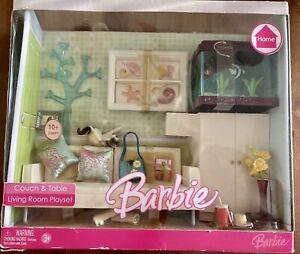 2006 Barbie Doll Home Living Room Furniture Fish Tank AQUARIUM NIB