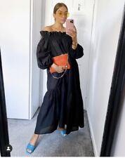 H&M del hombro vestido Negro Tamaño Grande BNWT * ÚLTIMA *