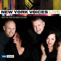 New York Voices - Live With The WDR Big Band Cologne [CD]