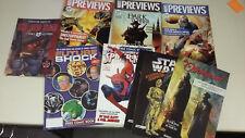 Comic Preview Hefte - Leseproben Marvel, DC, Star Wars