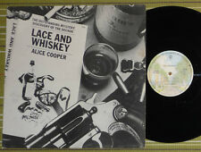 ALICE COOPER, LACE AND WHISKEY, LP 1977 UK 1ST PRESS A-1/B-1 VG+/EX-, INNER/SL