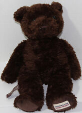 Herrington Bears CHEESECAKE FACTORY CHOCOLATE BROWN TEDDY Bean Filled PLUSH Cute