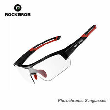 RockBros Photochromic Bike Sunglasses Bicycle Cycling Glasses Sports Eyewear