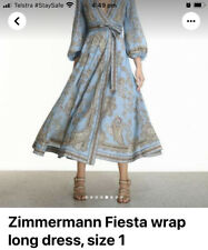 Zimmermann Fiesta Wrap Dress Size 1