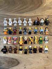 36 Lego Figures Various Bundle Job Lot Star Wars City DC Marvel Space Minifigure