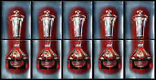 5 - NHL WALES TROPHY STICKERS-1982 TOPPS # 44 & 45-EASTERN CONFERENCE CHAMPIONS