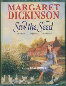 Margaret Dickinson ; Audio Book Cassettes Tapes SOW THE SEED (New)