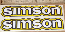 S50,S50B,S50N,Aufkleber,Aufklebersatz,Tankaufkleber,Simson,S51,Oldtimer,Ostalgie