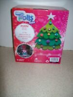 Trolls Poppy Christmas Airblown Inflatable Gemmy 4 ft Tall Holiday Decor  4189