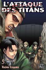 Attaque des Titans (l') Vol.5 (isayama Hajime) | Pika