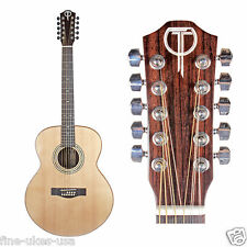 Teton STJ150ENT-10 Jumbo 10 string Acoustic Electric Guitar ONLY Spruce/Rosewd