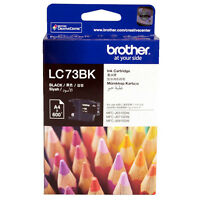 GENUINE Original Brother LC73BK LC-73 BLACK Ink Cartridge Toner High Yield