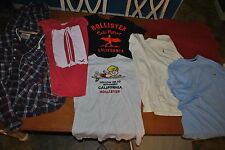COOL POPULAR T-SHIRTS  10 - 14 YEAR OLD BOY: HOLLISTER, POLO & TOMMY HILFIGER