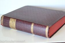 "VECCHIA  ENCICLOPEDIA ""THE MODERN CYCLOPEDIA"" VOLUME I° A - BLA  / LIBRO 1904"
