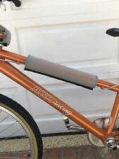 FLITE BMX bicycle foam padset AGZ racing Logo Grey/orange MADE IN USA*