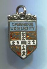 Alt + super silver D & F EMAILLE remorque supplie pendentif armoiries: Cambridge university