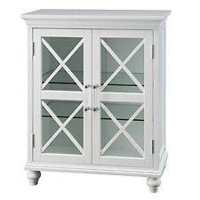 Elegant Home Fashions - ELG-632 - Blue Ridge Floor Cabinet With 2 Doors White