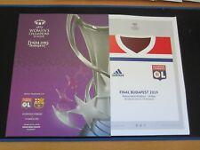 More details for 2019 uefa womens champion league final olympique lyonnais v fc barcelona