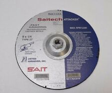 NEW Saitech Attacker Fast Grinding Type 27 9 X 14 Right Angle Grinder 6,600RPM