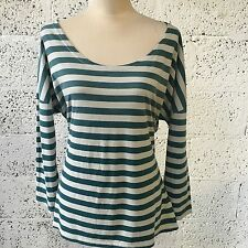 Zara Waist Length Striped Tops & Shirts for Women