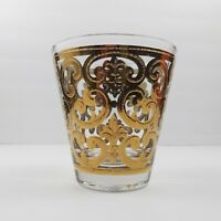 Georges Briard Spanish Gold Cocktail Drinking Glass Vintage Mid Century