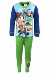 Kids Character Pyjama Set Pjs Nightwear Long Sleeve Bottoms Boys Girls Gift