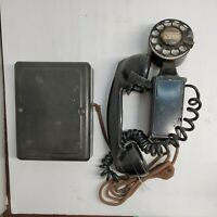 VTG Western Electric Space Saver Wall Mount Telephone Bell System Rotary Phone