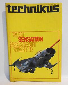 Technikus 10 / 1967 DDR Magazin für Mathematik Naturwissenschaft Technik !