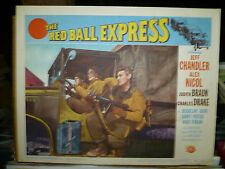 RED BALL EXPRESS, orig 1952 LC #8 (Jeff Chandler)