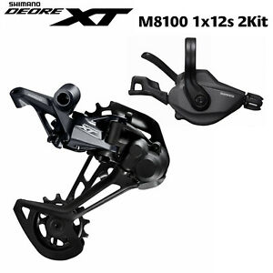 SHIMANO XT M8100 12-Speed Groupset SL + RD M8100 Rear Derailleur XT groupset