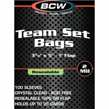 Durable BCW Crystal Clear Comic Book Bags Resealable Treasury Comic Books (100s)