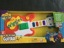 The Wiggles Play Along Guitar Bnib Free Shipping