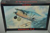 MAQUETTE AVION EDUARD ALBATROS D.V  1/48 DETAIL MODEL KIT NEUF PLANE/PLANO