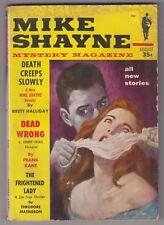 Mike  Shayne Mystery Magazine Aug 1959 PULP DIGEST Frank Kane Johnny Liddell