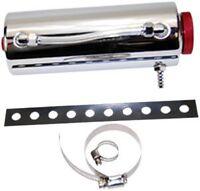 """3x9"""" Stainless radiator over flow tank reservoir radiator spit puke tank bottle"""