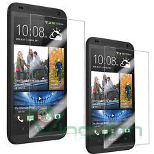 2x Pellicola trasparente display per HTC Desire 601 protezione triplo strato
