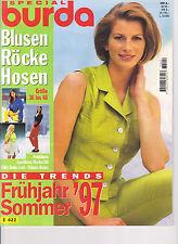 Burda special - Blusen Röcke Hosen - Gr. 36 bis 46 - Frühjahr/Sommer 1997