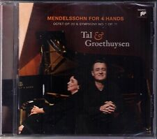 DUO TAL & GROETHUYSEN: MENDELSSOHN Piano 4 Hands Symphony No.1 Octet CD Sinfonie