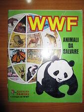 ALBUM FIGURINE PANINI - WWF ANIMALI DA SALVARE