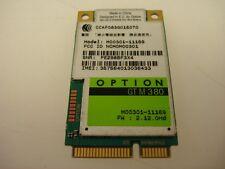 Option GTM380 Mini PCI-E 3G WWAN Wifi Wireless Card HSUPA HSDPA 7.2M M00301