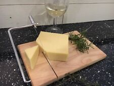 Personalised Engraved Small  Cheese Board with cheese wire