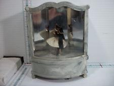 "Vintage Cody Couple Dancing Ballerinas On Stage ""Bleu Danube Waltz"" Music Box"