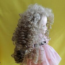 Tallina's Medium Blond DOLL WIG sz 15 for Dolls, Long Soft Curly Style-Unused